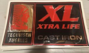 Tecumseh-Engines-Xtra-Life-Cast-Iron-Chrome-Decal