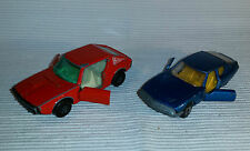 2x alte Spielzeugautos/Vintage toy cars MATCHBOX: Citroen S.M. & Renault 17 TL