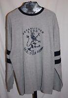U.s. Polo Assn. Established 1890 Gray Long Sleeve Men's Shirt Size 2xl
