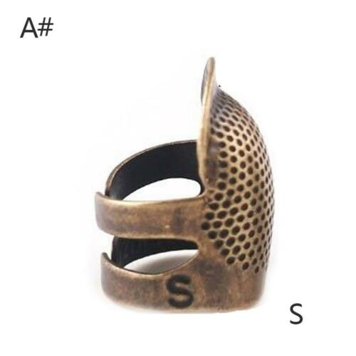 Thimble Antique Metal Finger Protector Brass Sewing Finish Fingertip Copper 1x