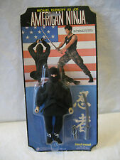 vintage AMERICAN NINJA action figure FLEETWOOD Cannon Films Michael Dudikoff MOC