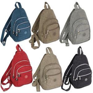 47c83ee8c78d8 Das Bild wird geladen Kleiner-City-Rucksack-aus-Nylon-Daypack-sehr-leicht-