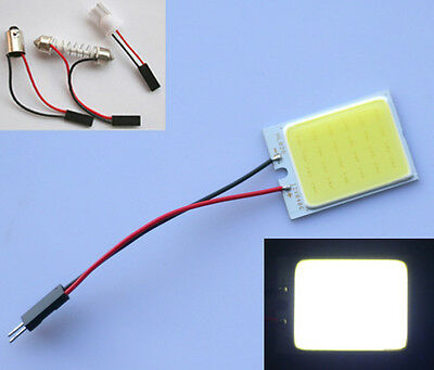 T10 W5W BA9S 24 LED COB Chip Festoon Soffitte Innenraum abeleuchtung Panel Auto