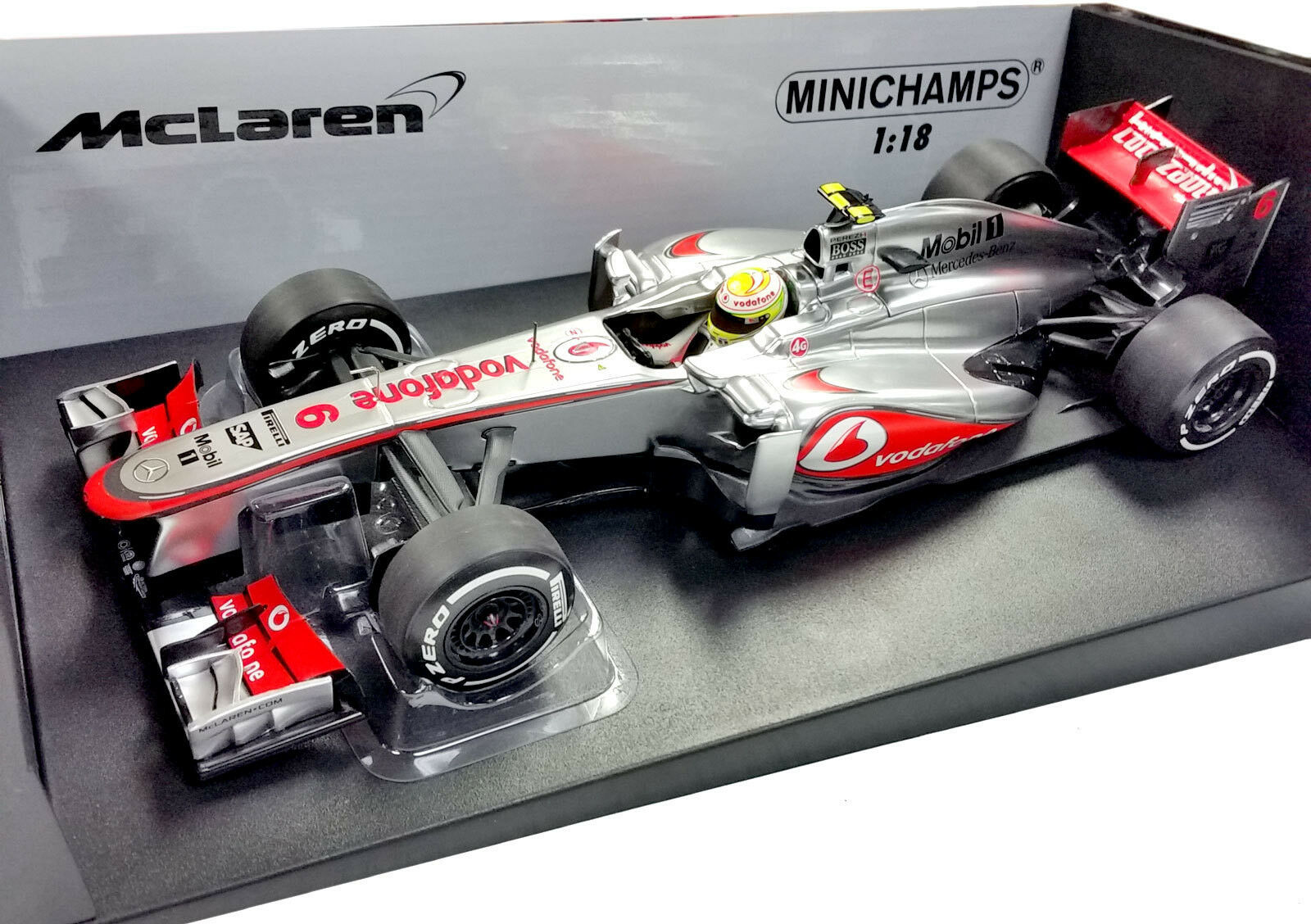 MINICHAMPS 1 18 2013 MCLAREN MERCEDES MP4-28 SERGIO CHECO PEREZ 530131806