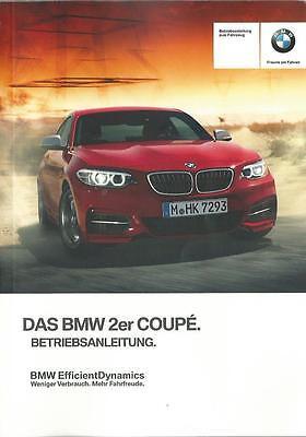 BMW 2er CABRIO F23 Betriebsanleitung 2017 Bedienungsanleitung ...