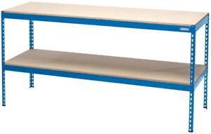 Draper 24913 Wb1800 Workbench in acciaio 1800 x 600 x 900Mm 200Kg Max carico di lavoro