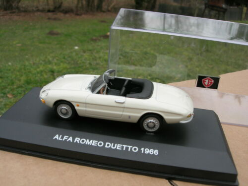EDISON G 1//43 ALFA ROMEO SPIDER DUETTO 1966 beige 801221 !!!