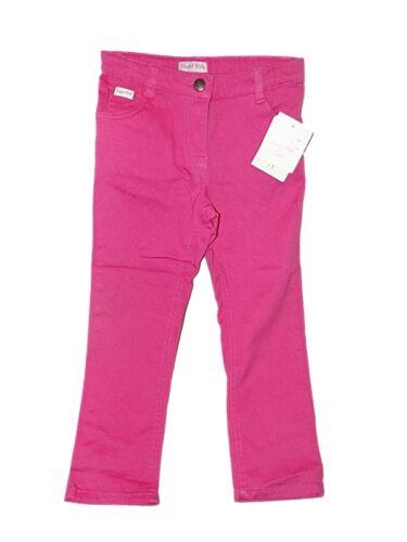 Carino New Girls Rosa di zucchero rosa brillante Cotone Pantaloni Jeans ~ età 4//5 anni