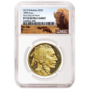 2019-W-Proof-50-American-Gold-Buffalo-NGC-PF70UC-FDI-Buffalo-Label