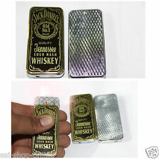 Jack Daniel's Luxury Designer  Metal Windproof Cigarette Gas Lighter Men & Women