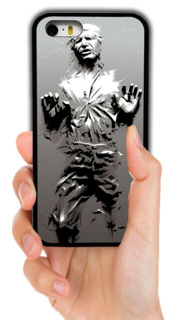 superior quality e12a5 a9ff1 STAR WARS HAN SOLO CARBONITE PHONE CASE FOR IPHONE XS MAX XR 4 5 5C 6 7 8  PLUS