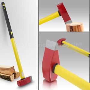 Profi-Spalthammer-Spaltaxt-Fiberglas-Holzspalter-Holzspalthammer-NEU
