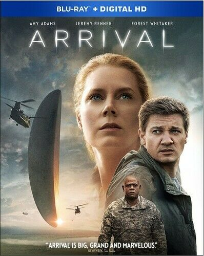 Arrival (2016 Amy Adams) BLU-RAY NEW