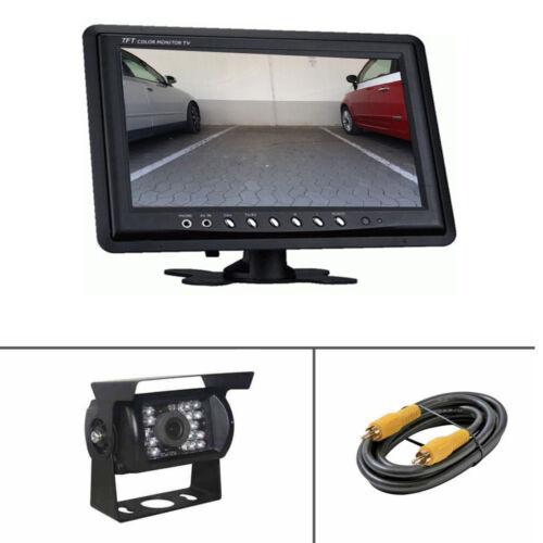 """Rückfahrsystem cámara de visión trasera 23 cm con monitor 9/"""" pulgadas y ir Transporter auto"""