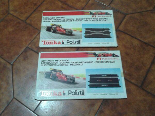 Affidabile Tonka - Polistil, Chicane + Rettilineo( Con Contagiri) Per Pista F1 Professional Buon Sapore