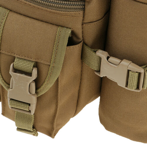 Outdoor Utility Tactical Military Hiking Outdoor Water Bottle Waist Fanny Pack