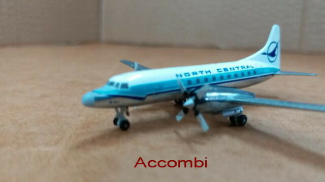 Gemini Jets400  North Central Convair CV-580 GJNOR1162 N2041 6/19 1:400