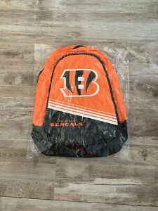 a4f27c45 Details about NFL Cincinnati Bengals 2015 Stripe Core Logo Backpack by  Forever Collectible
