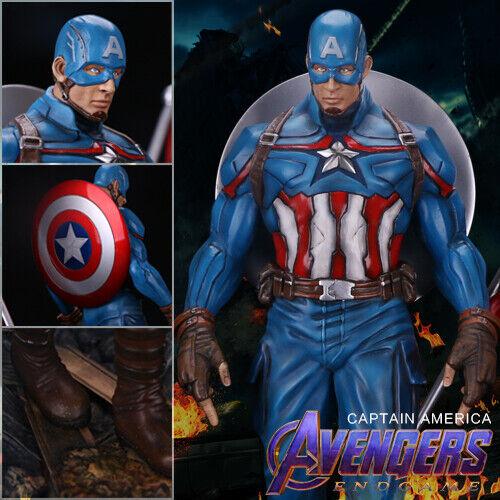 Handmade Avengers 4 Captain America 1//6 Model Statue Figure Toy Resin IN STOCK