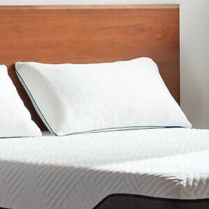 LUCID-Shredded-Memory-Foam-Pillow-2-Pack-Standard-Queen-King
