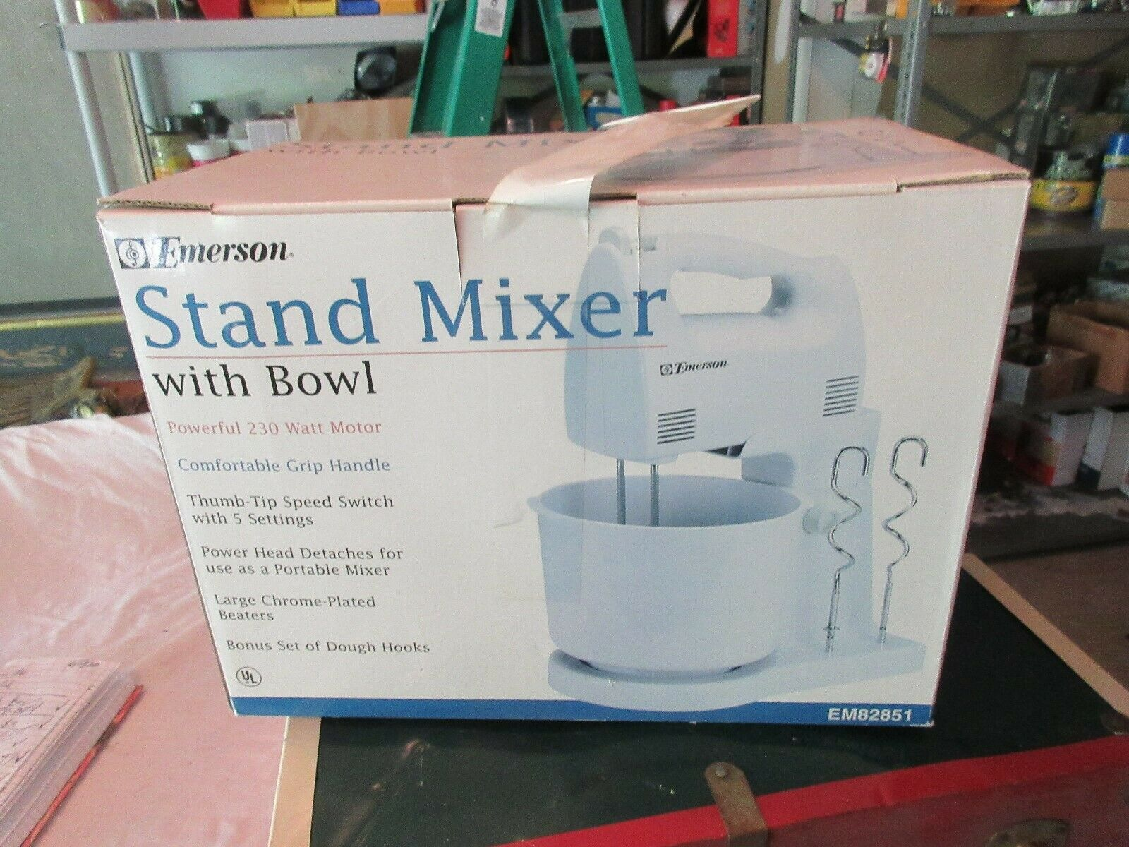 Emerson , Stand Mixer with Bowl , SM82851 , Vintage , N