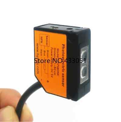 5 x Specular Type E3JK-R4M1 Photoelectric Sensor Switch 3.5m Detection