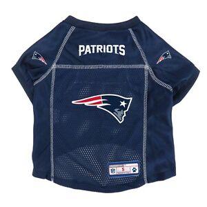 New-England-Patriots-NFL-Little-Earth-V-Neck-Pet-Mesh-Dog-Jersey-Sizes-XS-XL