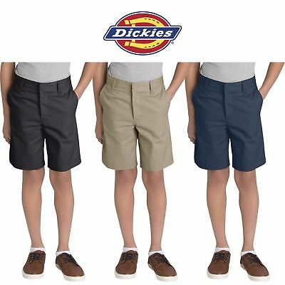 DICKIES Boys/' Flat Classic fit Front Short Husky Size 8-20 School Uniform 54062
