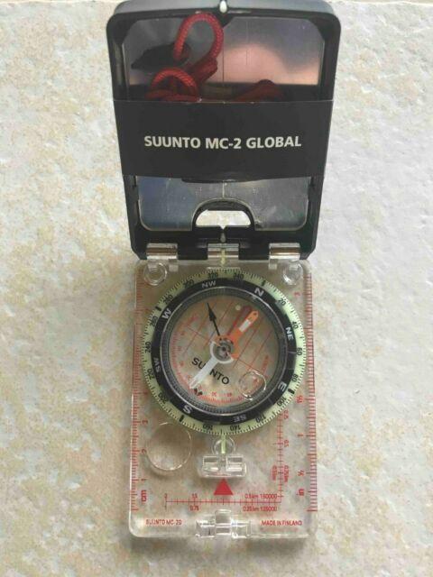 Suunto MC-2 D//L IN//NH Mirror Sighting Compass