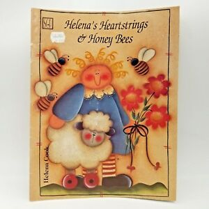 1995-Helena-039-s-Heartstrings-and-Honey-Bees-by-Helena-Cook-Tole-Painting-Booklet