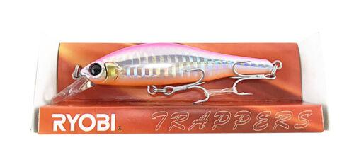 Ryobi Trappers Fishing Hard Lure MN083A3S//N 02 Sinking Type 83mm 9.3g Japan VMC