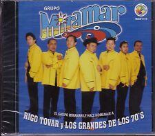 Grupo Miramar Canciones de Rigo Tovar y Los Grandes de los 70's CD New NUEVO