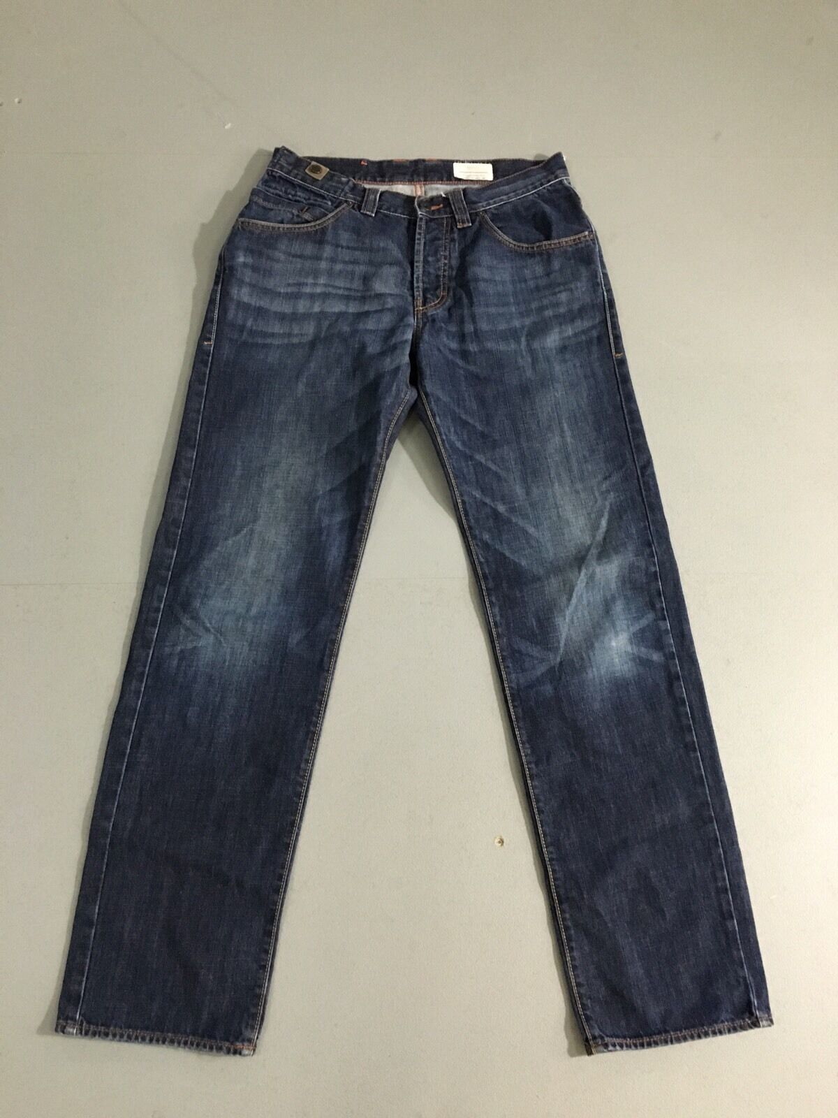 Mens HUGO BOSS 'Comfort Fit' Jeans - W32 L34 - Dark Navy Wash - Great Condition