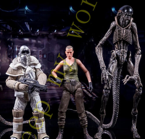 "NECA Aliens 3 Movie Series 8 Xenomorph 7/"" PVC Action Figure New Collection Doll"