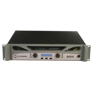 crown xti 6002 2 channel rack mount power amplifier xti 6002 new in box 4872593159054 ebay. Black Bedroom Furniture Sets. Home Design Ideas