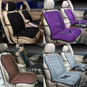 Image Is Loading 12V Auto Car Heated Seat Cushion Cover