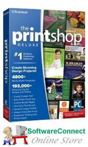 Broderbund-PrintShop-4-Deluxe-Print-Shop-GENUINE-GUARANTEE