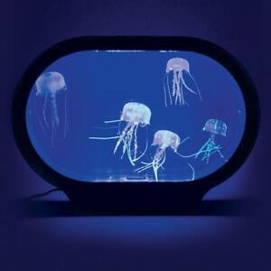 LED Jellyfish NIght Light Realistic 7 Color Changing Water Aquarium Tank  #YS