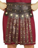 Mens Roman Apron & Belt Gladiator Viking Soldier Costume Accessory Adult Size