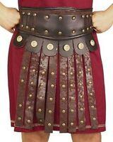 Mens Roman Apron & Belt Gladiator Viking Soldier Costume Accessory Adult Size