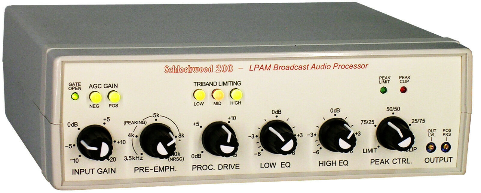 Multiband Audio Processor for AM Broadcasting - SW200 2021 RUN SHIPPING NOW!!!. Buy it now for 435.00
