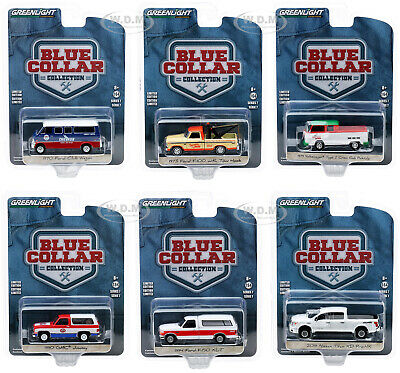 Greenlight Blue Collar Series 7 set of 6 vehicles FACTORY SEALED