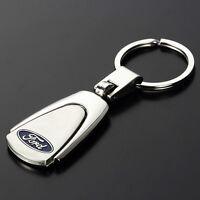 New Style Car Logo Creative Keychain Metal Key Chain Keyring Keyfob For Ford ST