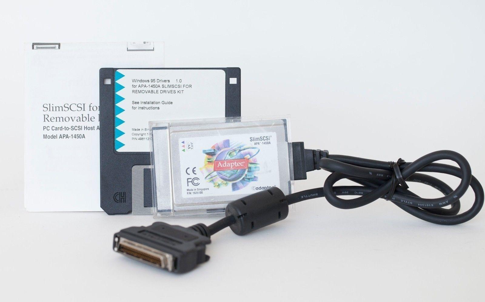 ADAPTEC SLIMSCSI PCMCIA DRIVER FOR WINDOWS MAC