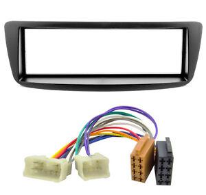 Autoradio-Blende-Adapter-Kabel-Set-fuer-Toyota-Aygo-Citroen-C1-Peugeot-107-1DIN