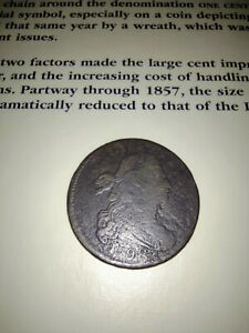 1798 Large Cent S-161 First hair style