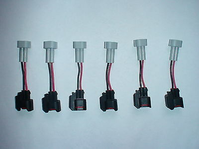 4x Injector Dynamics Fuel Injector Quick Disconnect Pigtails ID725 to ID1700X