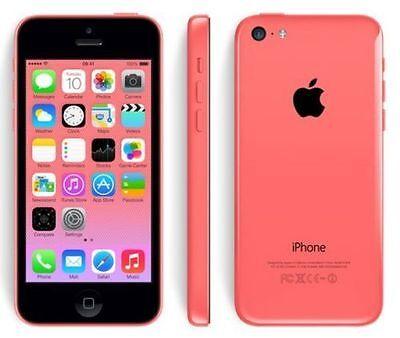 Apple iPhone 5C 32GB Unlocked Smartphone - Grade A+ White Green Yellow Blue Pink