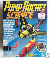 PUMP ROCKET SCIENCE - KIDZ LABS 4M GREAT GIZMOS - BRAND NEW & SEALED!