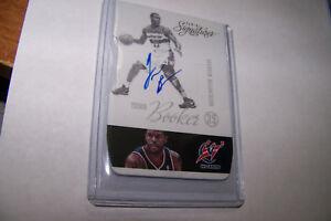 Rare-2013-Trevor-Booker-Panini-Signatures-Auto-Autograph-NBA-Card-113-Forward